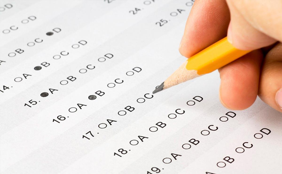 SAT och TOEFL test